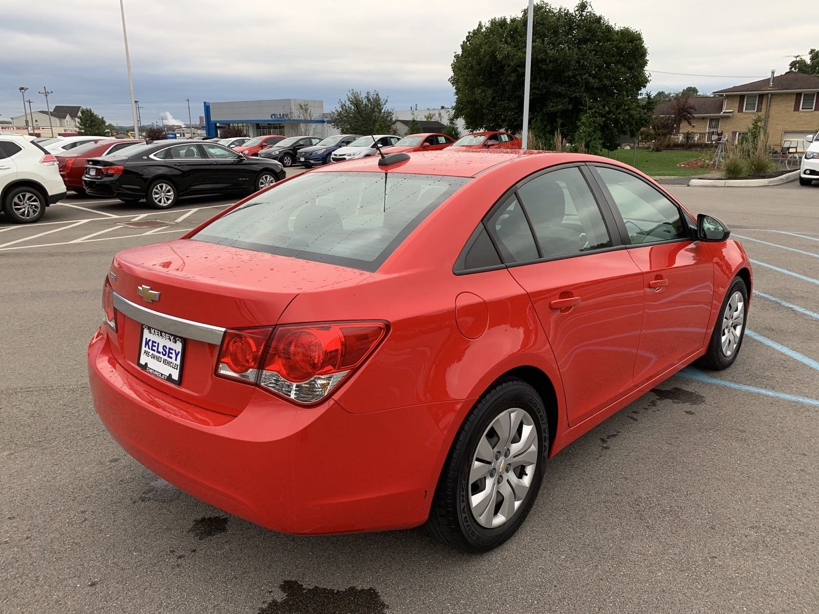 Pre-Owned 2015 Chevrolet Cruze LS 4D Sedan In Greendale